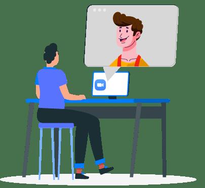 percepto- Zoom video calls